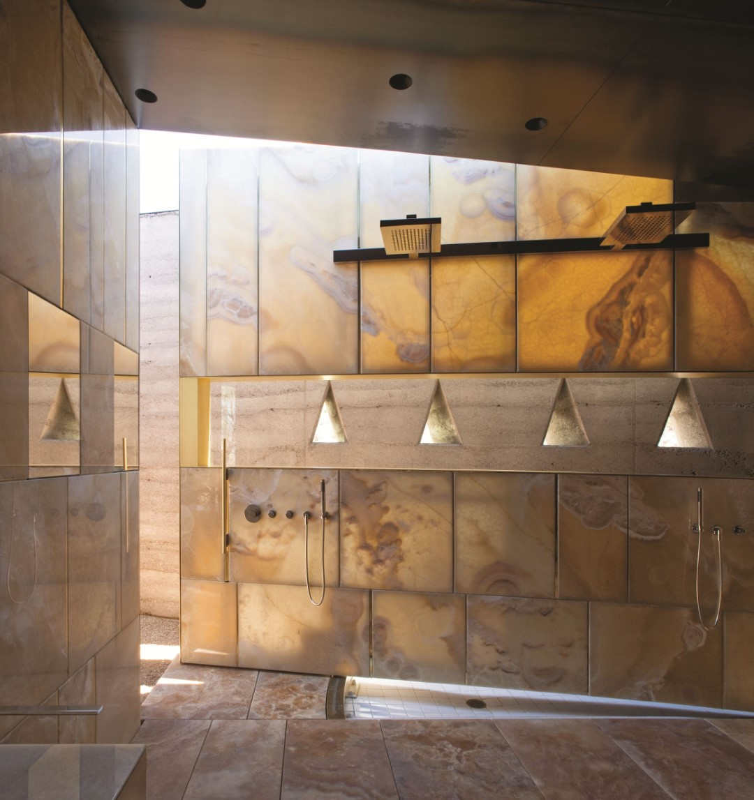 Casa de banho em Onyx Caramello