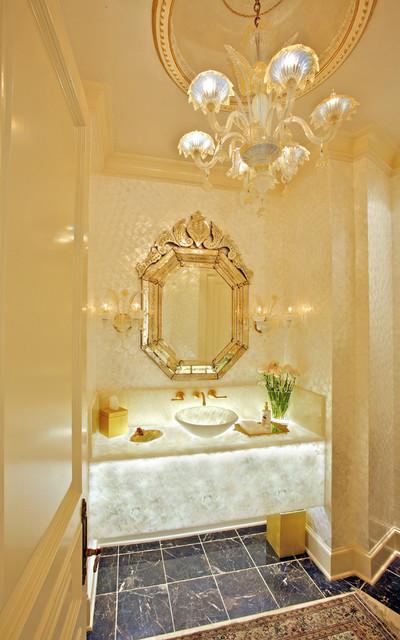 Tampo de casa de banho em Onyx retroiluminado
